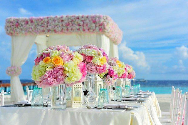 Tropikalny styl ślubny