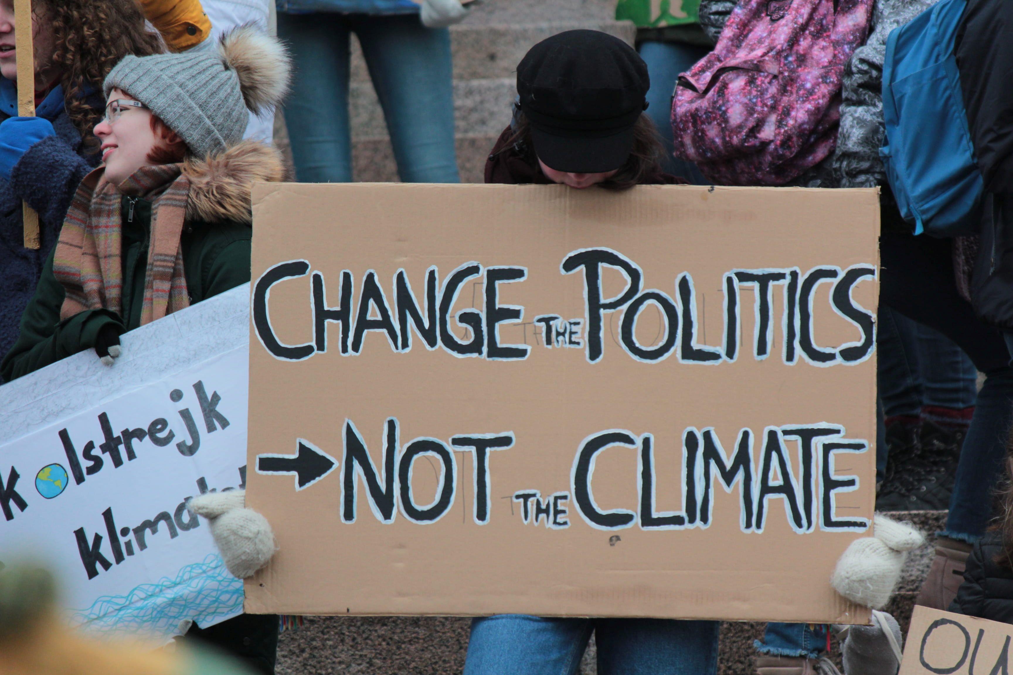 zmiany klimatyczne na Ziemii