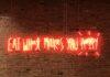 neony w PRLu