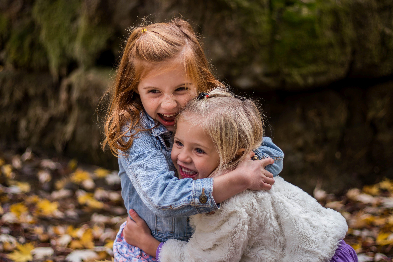 portret dzieci w obiektywnie
