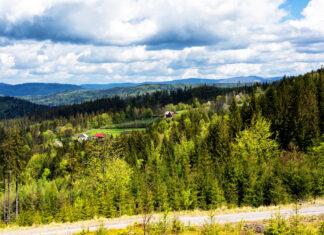 Panorama okolic Ustronia